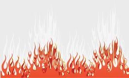 Flammen lizenzfreie abbildung
