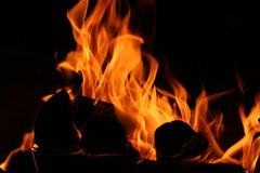 Flammen stockbilder