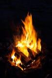 Flammen des Feuers Stockbild