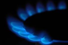 Flammen des Gases Lizenzfreie Stockbilder