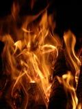 Flammen oder Feuer Lizenzfreie Stockbilder