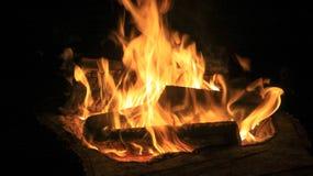 Flammen und Feuer stockfotos