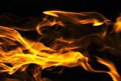 Flammen - unscharfer Hintergrund Stockfoto