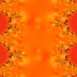 Flammender Herbst-Auszug Stockbilder