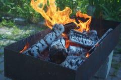 Flammenfeuer Stockfotografie