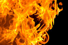 Flammenzungen Lizenzfreie Stockbilder