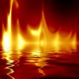 Flammes illustration libre de droits