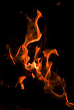 Flammes. photographie stock