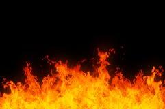 Flammes Photo libre de droits