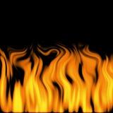 Flammes 2 photo stock