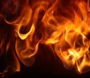 Flammes Photos stock