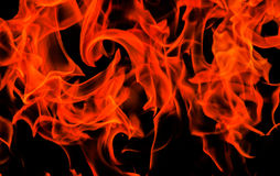 Flammes Images stock