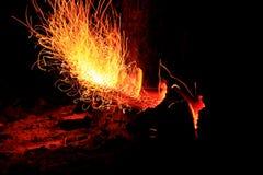 Flammes Photos libres de droits