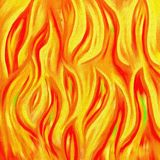Flammes abstraites Photos stock