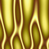 Flammes abstraites d'or Image stock
