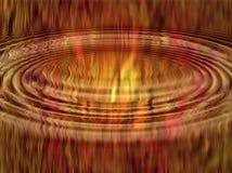 Flammes abstraites d'ondulation illustration libre de droits