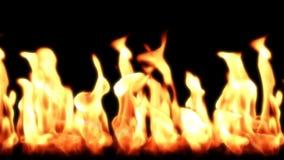 Flammes, boucle sans couture, longueur courante illustration libre de droits