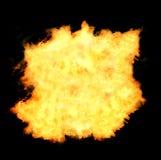 Flammes d'aérolithe Images libres de droits