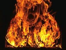 Flammes d'incendie Image libre de droits