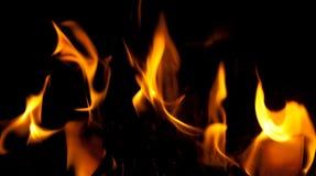 Flammes d'incendie Photos libres de droits