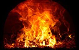 Flammes d'incendie Photographie stock libre de droits