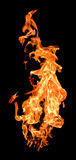 Flammes d'incendie augmentant haut photos stock