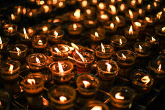 Flammes de foi Photographie stock libre de droits
