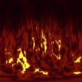 flammes du feu Photo stock