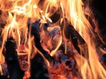 Flammes et incendie photo stock