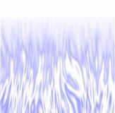 Flammes glaciales au-dessus de blanc Image libre de droits