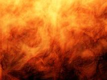 Flammes grasses d'incendie Photographie stock