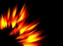 Flammes solaires illustration libre de droits