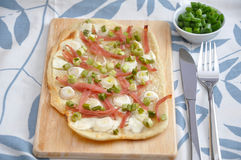 Flammkuchen royalty-vrije stock foto