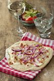 Flammkuechen Royalty Free Stock Images