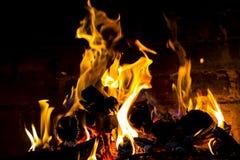 flammor royaltyfri bild