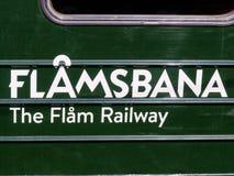 Flamsbana train exterior wagon Stock Photos