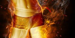 Flamy Symbol Lizenzfreie Stockfotografie