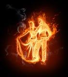 Flamy symbol Stock Image