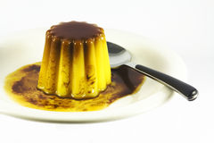 Flan Royalty Free Stock Photo