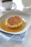 Flan Royalty Free Stock Images