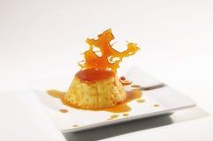 Flan - Creme caramel Stock Image