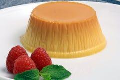 Flan dessert Royalty Free Stock Photos