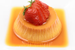 Flan dessert Royalty Free Stock Images