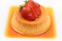 Flan dessert Royalty Free Stock Images