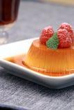 Flan dessert Royalty Free Stock Photo
