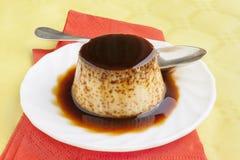 Flan dessert Royalty Free Stock Image