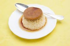 Flan dessert Stock Photos