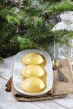Flan, traditional spanish dessert Stock Photography