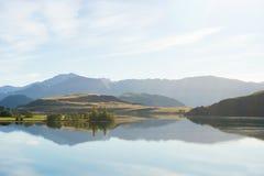 Flanc de coteau écossais Image libre de droits