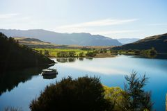 Flanc de coteau écossais Photographie stock